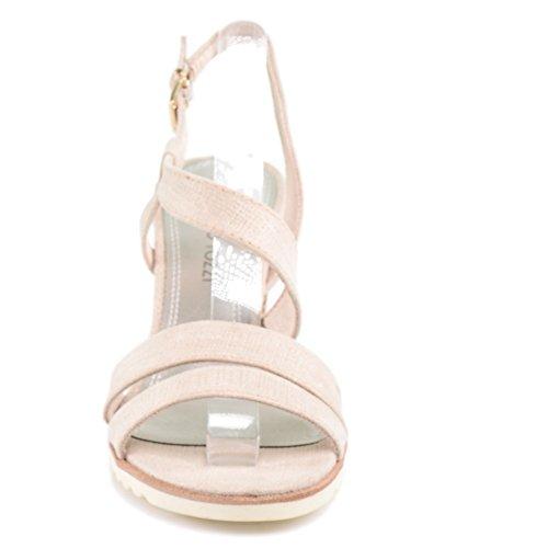 Marco Tozzi 2-28705 - Sandalias de vestir de Tela para mujer beige color carne color carne