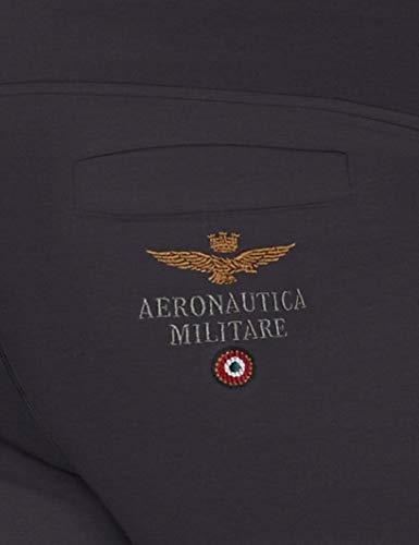 In Uomo Aeronautica blu Navy Bermuda Pantaloncini 08184 Militare Felpa Blu WqqEnXUT