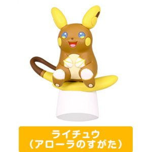 Takara Tomy Pokemon Alola Collection Figure Raichu Alola Version (single)