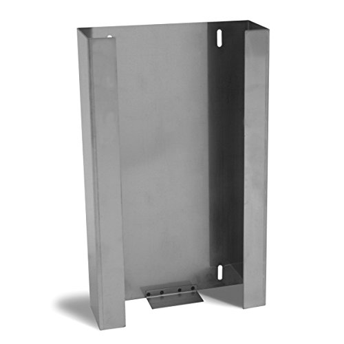 UltraSource Stainless Steel Glove Box Dispenser, 3 Boxes Capacity by UltraSource