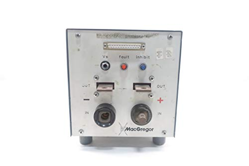 MACGREGOR DC10PR Welding Power Supply D658655