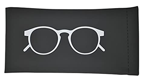 Sunglasses & Eyeglasses Pouch by Momentum Home Featuring a Pinch to Open Mechanism (Aluminum Case Sunglasses)
