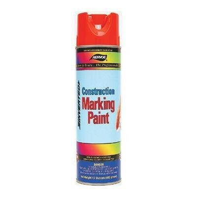 (Aervoe 247 Construction Marking Paints, 20 Oz Aerosol Can, Fluorescent Orange by Aervoe)