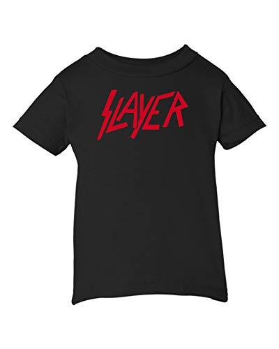 T-shirt Rocks Baby Onesie (Mari Kyrios Slayer Thrash Speed Metal Rock & Roll Black T-Shirt Tee PJ Baby Clothes)