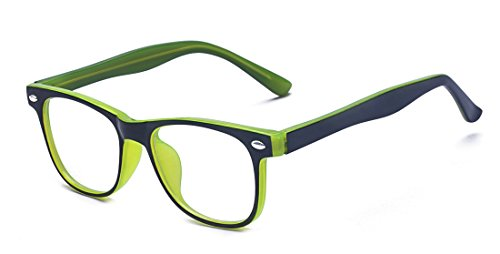 Outray Kids Computer Anti Blue Light Glasses for Boys and Gilrs Anti Eyestrain 2185c3 ()