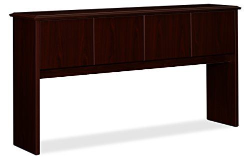 HON 94234NN 94000 Series 70 by 16-1/8 by 37-Inch Stack-On Storage Hutch for Credenza, Mahogany ()