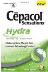 UPC 913201326247, SPECIAL PACK OF 5 - CEPACOL SENSATIONS LOZ HYDRA 20EA