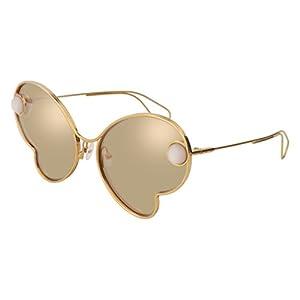 Sunglasses Christopher Kane CK 0016 S- 002 GOLD / WHITE