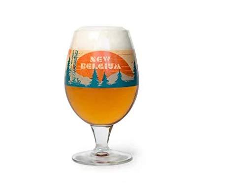 New Belgium Brewery Artful Globe Glass -2019 Mountain Edition