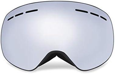 スキーゴーグル、メガネUV400防曇スキー/スノーボードゴーグル用男性&女性用プロフェッショナルスノーモービルスケートゴーグル