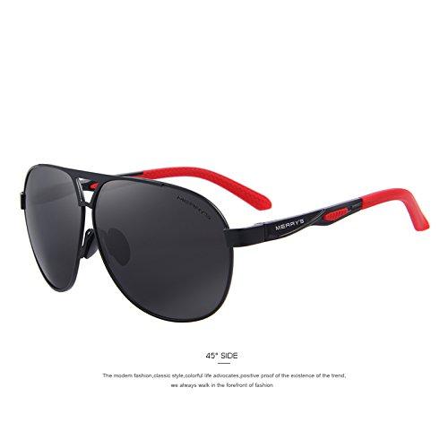 lentes C01 HD Los TIANLIANG04 de C02 EMI Black hombres Gris sol polarizadas de Guía gafas Gafas aluminio la de de Defender recubrimiento clásico las de tonos qnFSaWq
