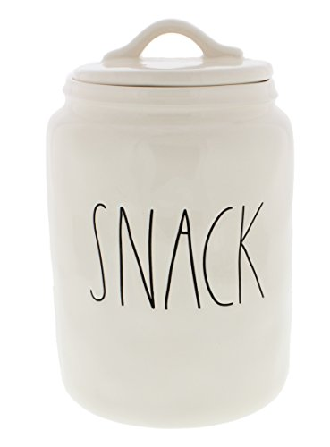 Pottery Snack - Rae Dunn Magenta SNACK LL Canister