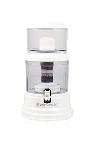 Zen Water Systems Countertop Filtration and Purification System, 4-Gallon (For Mineral Rocks Water)