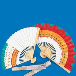 (Decorate-Your-Own Fan 10-1/4 Inch)