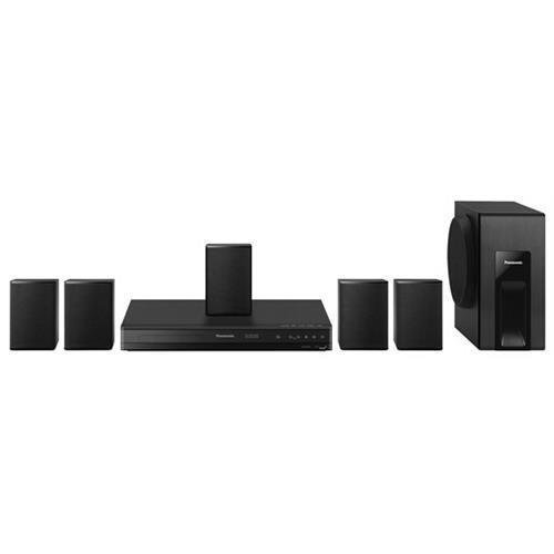 Panasonic SC-XH105E Bluetooth Multi Region Free 5.1-Channel DVD Home Theater Speaker System With HDMI Cable 110-240V Black