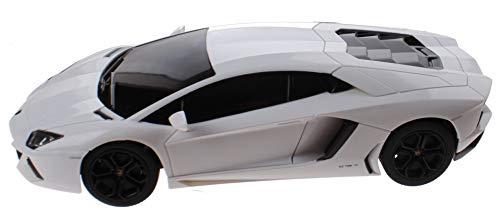 Rastar RC Lamborghini Aventador Schale 1:14 weiß 30 cm