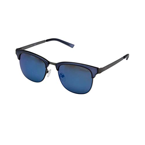 GUESS Unisex GF5016 Crystal Matte Blue/Gunmetal/Blue Mirror Lens One Size