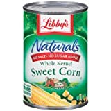 Libby's Naturals No Salt & No Sugar Added Whole Kernel Sweet Corn, 15 oz