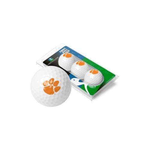 NCAA Clemson Tigers - 3 Golf Ball Sleeve