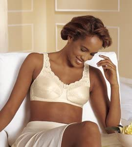 White; Package Size Annabel Soft Cup Bra 1 per box 40 B Colour
