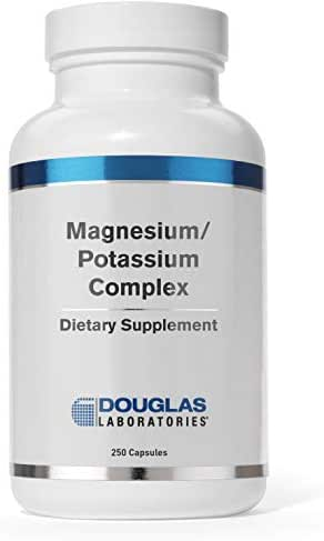 Douglas Laboratories - Magnesium/Potassium Complex - Supports Cardiovascular Health and Skeletal Muscle Contractility* - 250 Capsules