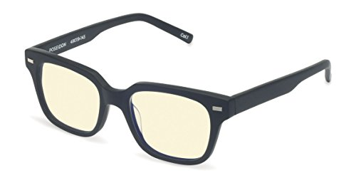 Boca One Light - Reading Glasses - POSEIDON Blue Light Blocking Computer and Gamer Glasses for Men and Women with Acetate Frames, CR39 lenses - FDA and CE Approved - Magnification Strength 0 to +2