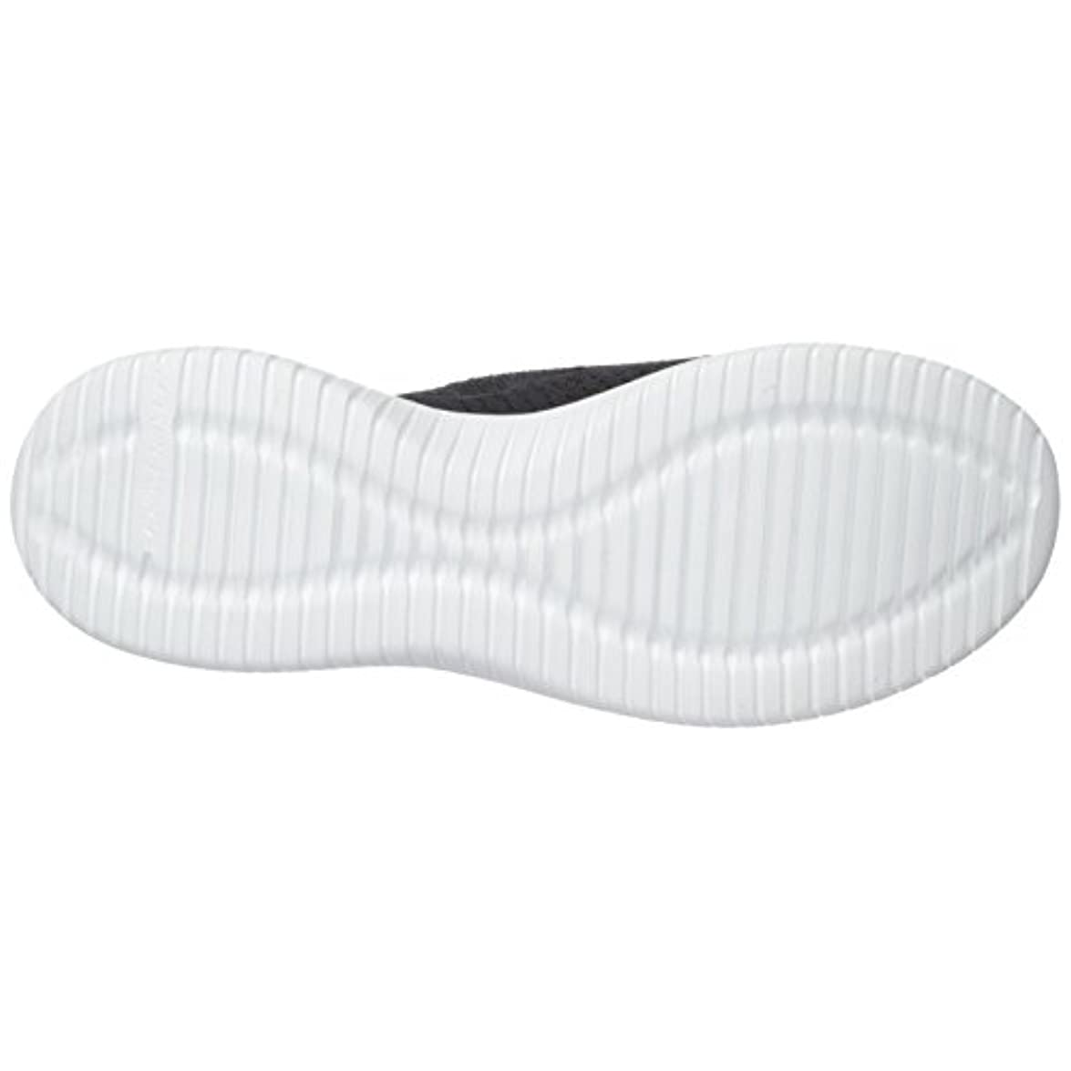 Skechers Ultra Flex Statements Sneakers Donna Nero black white Bkw