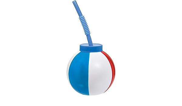 cootillon mesa decoración Cups Ball Taza de agua con pajita ...