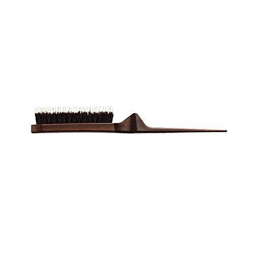 Olivia Garden Style-Up Teasing Foldable Hair Brush - 100% boar & ionic bristles STU-CO (Combo) (Best Brush For Teasing Hair)