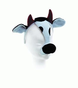Wilbers Karnaval - Máscara de vaca con diadema