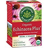 Traditional Medicinals Organic Echinacea Plus Seasonal Tea, 16 Tea Bags (Pack of 18) by Traditional Medicinals