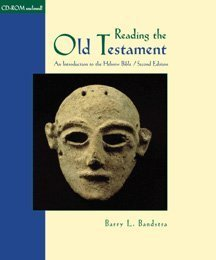 Reading the Old Testament: An Introduction to the Hebrew Bible (with CD-ROM: Introduction to the Hebrew Bible)