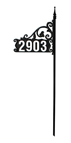 Address America Address Sign  Double Sided, Heavy Duty Front