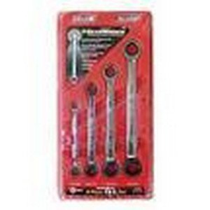 Wrench Ratcheting Set 4Pc Fractional Double