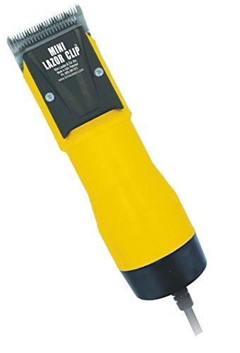 Laube 521 Mini Lazor Corded 2-Speed Clipper Kit, Yellow