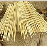 Kabob skewers PACK of 500 8 inch bamboo sticks made from 100 % natural bamboo - shish kabob skewers - (500) -