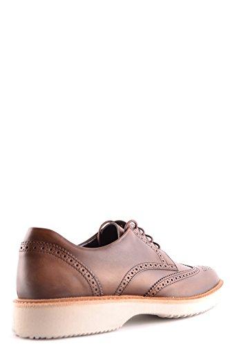Chaussures À Lacets Hogan Pour Homme Mcbi148403o Marron Cuir