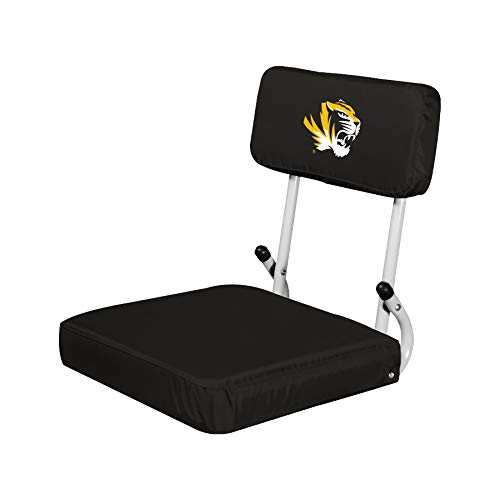 (Logo Brands NCAA Missouri Tigers Hard Back Stadium Seat)