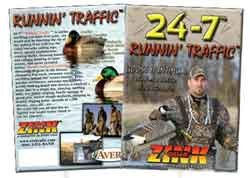 Zinks 24/7 Runnin' Traffic DVD (Dvd Bee Singing)