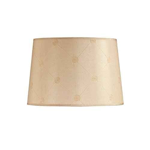 Laura Ashley Lighting SLD338 Lucille 18-Inch Lamp Shade, Butter Yellow