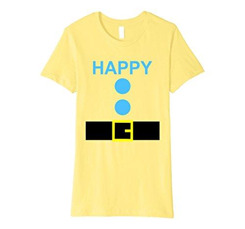 Group Costume Ideas For 3 Women (Womens Halloween Dwarf Costume Group Shirt for Church 7 Chorus Team Medium Lemon)