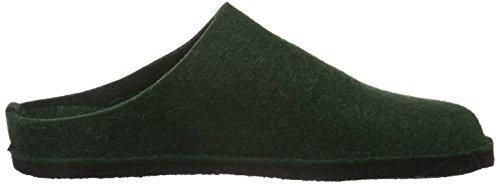 Haflinger Unisex-Erwachsene Flair Soft Pantoffeln Grün (Eibe 35)