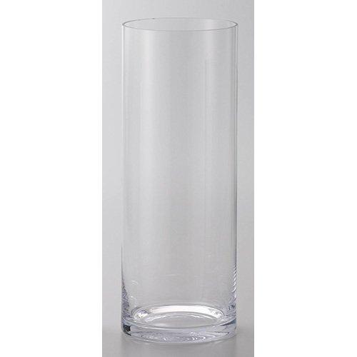 フラワーグラス EURO 直径19×高さ50cm クリアー B076769QSN