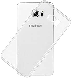 Ozone Ultra Thin Dotted Design Transparent Back Case Cover for Samsung Galaxy S6 Edge Plus Clear