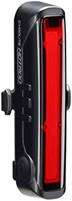 Cygolite Hotrod – Lumen Bike Tail Light - 6 Night & Daytime Modes– Wide Glowing LEDs- Compact & Sleek–