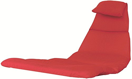 Eclipse Collection Dream Chair Cushion - Cherry Red by Eclipse Curtains