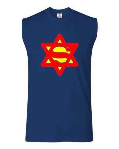 Adult Super Jewish Sleeveless T Shirt product image
