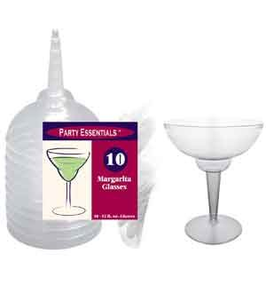 Margarita Glasses 12oz 10ct [Contains 1 Manufacturer Retail Unit(s) Per Amazon Combined Package Sales Unit] - SKU# N121021 by Party Essentials