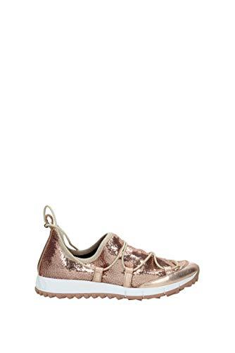 Rose Femme Glitter ANDREATQS EU Choo Jimmy Sneakers q08wBYx4