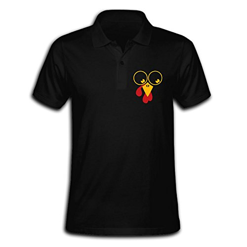 ZHONGJIAN Men's Polo Shirt Short Sleeve With Simple Printing